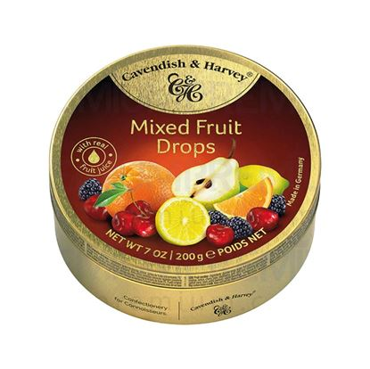 Picture of Cavendish & Harvey Mixed Fruit Drops 200 gm