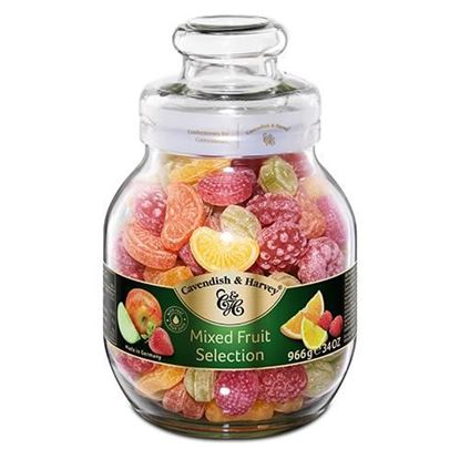 Picture of Cavendish & Harvey Mixed Fruit Candy - 966 gm