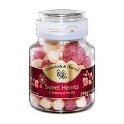 Picture of Cavendish & Harvey Sweet Heart Selections Cranberry & Vanilla