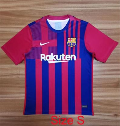 Picture of 2021/22  Barcelona Home Thai Jersey