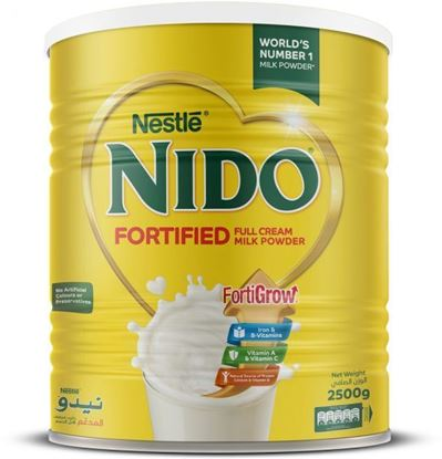 Picture of Nestle Nido Fortified Powder Milk - 2500Gm