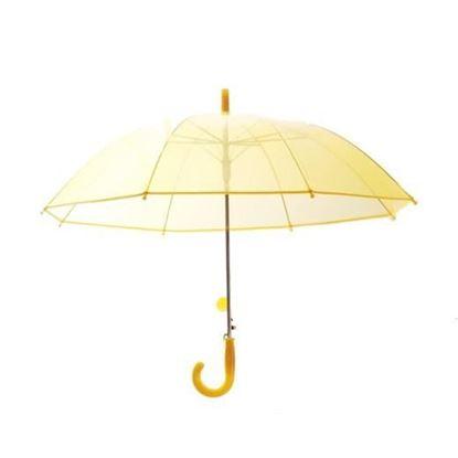 Picture of Transparent Umbrella Yellw
