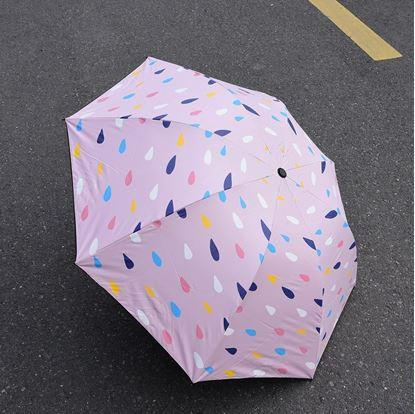 Picture of Minigood Colored Raindrop Umbrella