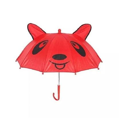 Picture of Polyester Umbrella for Kids Red