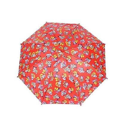 Picture of Red Metal and Polyester Fashionable Umbrella For Kids Red