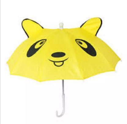 Picture of Colurfull kids Umbrella For Mini Size Yellow
