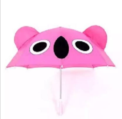Picture of Polyester Kids Umbrella Pink