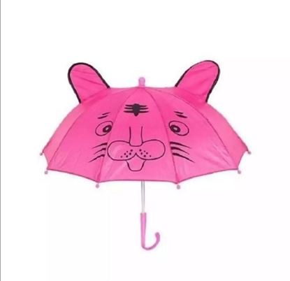 Picture of Colurfull kids Umbrella For Pink