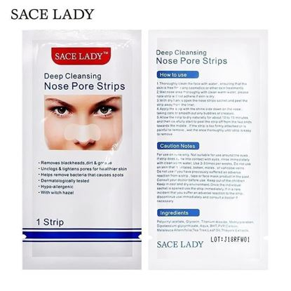 Picture of Sace Lady nose strip Blackheads removal Nose strip [5 strips]