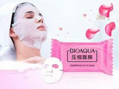 Picture of Bio Aqua Compressed Dry Sheet Mask- 10 Pcs