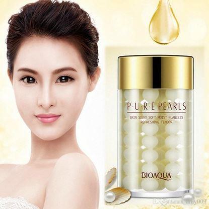 Picture of BIOAQUA Pure Pearl Essence Face Cream night Mask Deep Moisturizing Whitening Skin Care Anti Wrinkle 60g