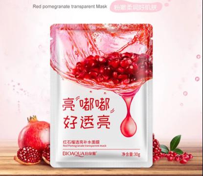 Picture of Bioaqua Red Pomegranate Facial Sheet