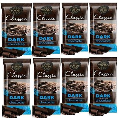 Picture of Toren Classic Dark Compound Chocolate 8 pcs - 52g each