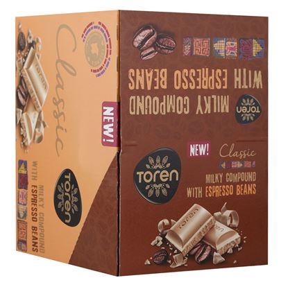 Picture of Toren Classic Milk Compound Chocolate 24 pcs - 52g Full box each