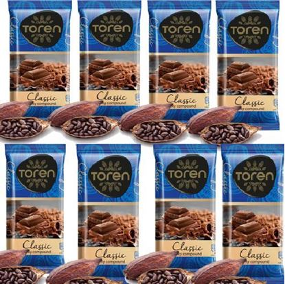 Picture of Toren Classic Compound Chocolate 8 pcs - 52g each