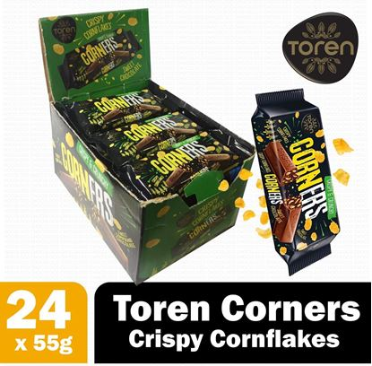 Picture of Toren Classic Corners Compound Chocolate 24 pcs 52g Full box
