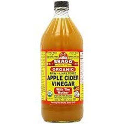 Picture of Bragg Organic Apple Cider Vinegar Made with Mother (Unpasteurized) - 946 ml