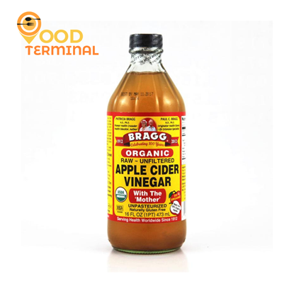 Picture of Bragg Organic Apple Cider Vinegar with The Mother - 473ml