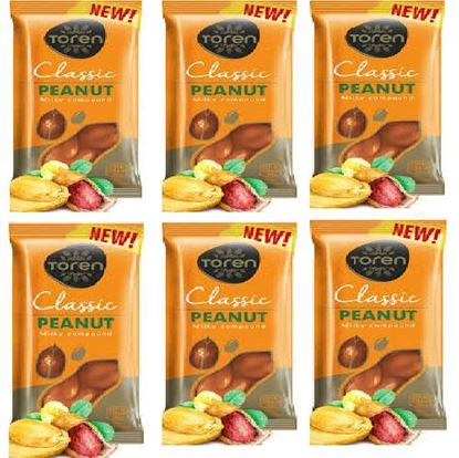 Picture of Toren Peanut Compound Chocolate 6 pcs - 52g each