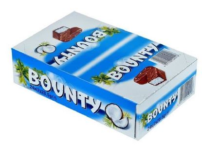 Picture of Bounty Chocolates - 24 Pcs 57g Full Box