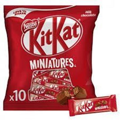 Picture of Kit Kat miniatures - 110gm