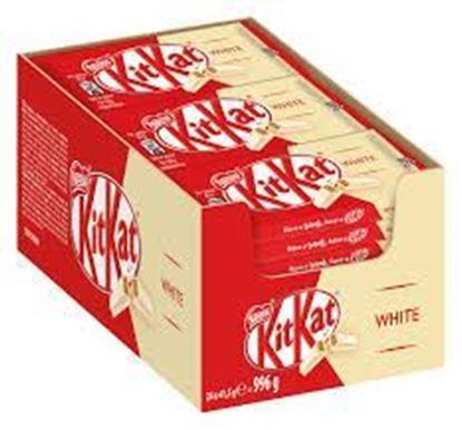 Picture of Kit Kat White 4 Finger 24pcs Box - 996gm