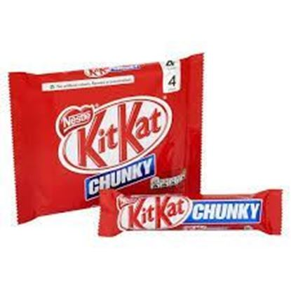 Picture of Kit Kat Chunky 4pcs Packet - 160gm