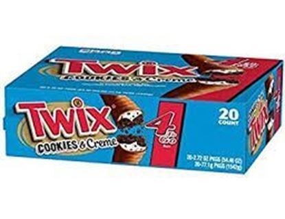 Picture of Twix Salted Caramel Bar 25 pc's Box 1150 gm