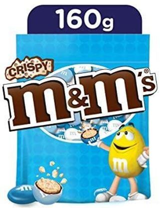 Picture of M&M's Crispy chocolate - 160 gm