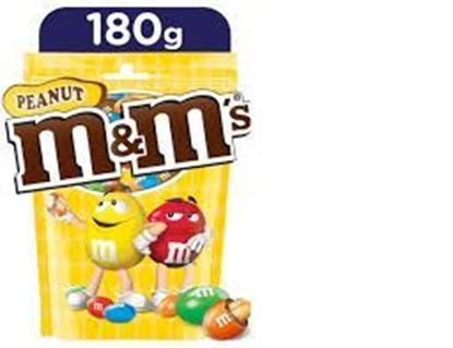 Picture of M&M's Peanut √Weight: 180 gm