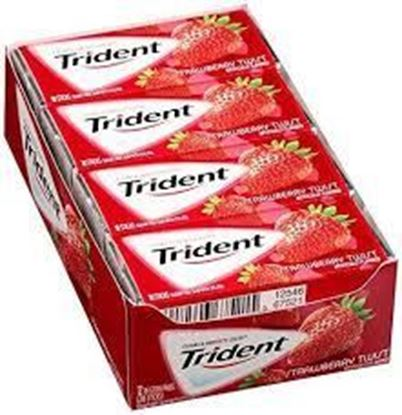Picture of Trident Strawberry Flavor  168 gm