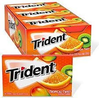 Picture of Trident Tropical Flavor  168 gm