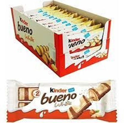"Picture of Kinder Bueno White"" 30 pc's box"