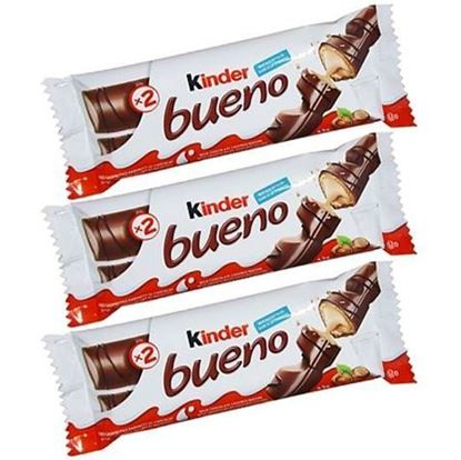 Picture of Kinder bueno 2 bars pack 3Pcs - 43 g(Per pcs)