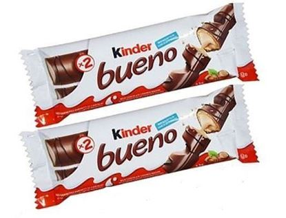 Picture of Kinder bueno 2 bars pack 2 Pcs - 43 g (per pcs)